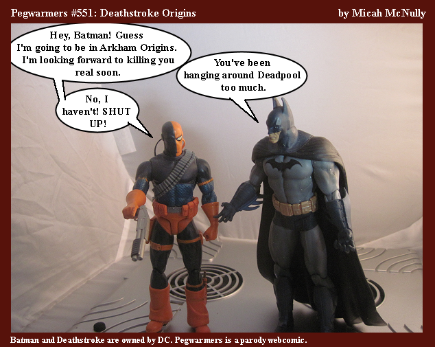 551. Deathstroke Origins