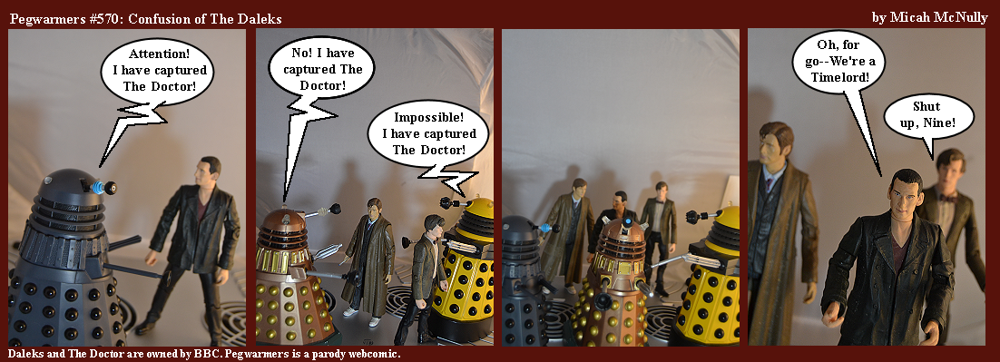 570. Confusion of the Daleks