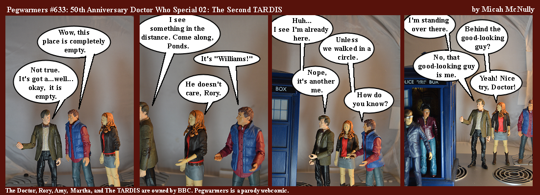 633. 50th Anniversary Doctor Who Special 02: The Second TARDIS