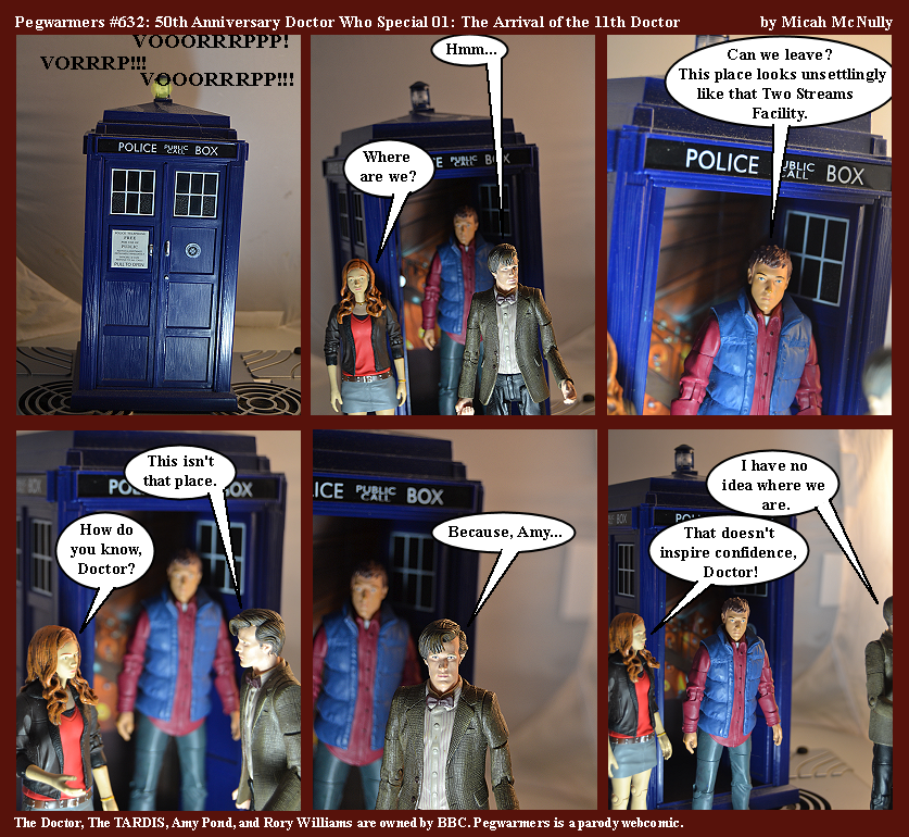 632. 50th Anniversary Doctor Who Special 01: The Arrival of the 11th Doctor
