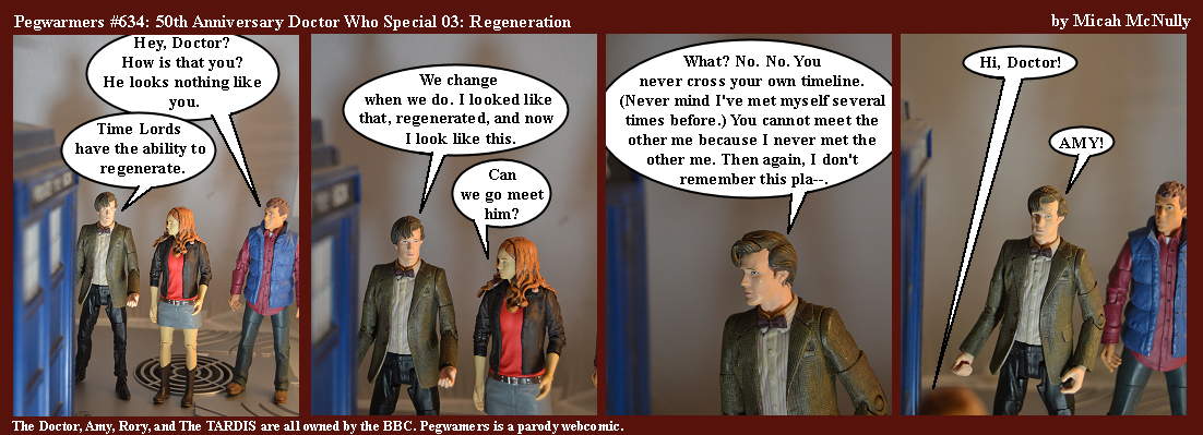 634. 50th Anniversary Doctor Who Special 03: Regeneration