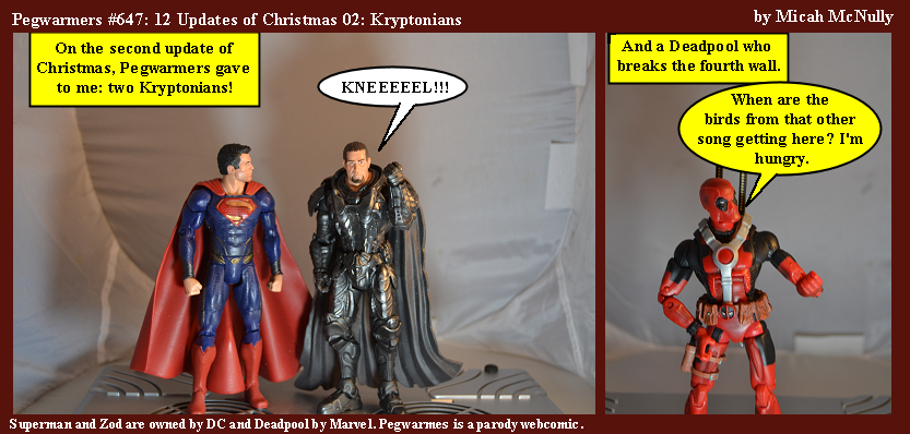 647. 12 Updates of Christmas 2: Kryptonians