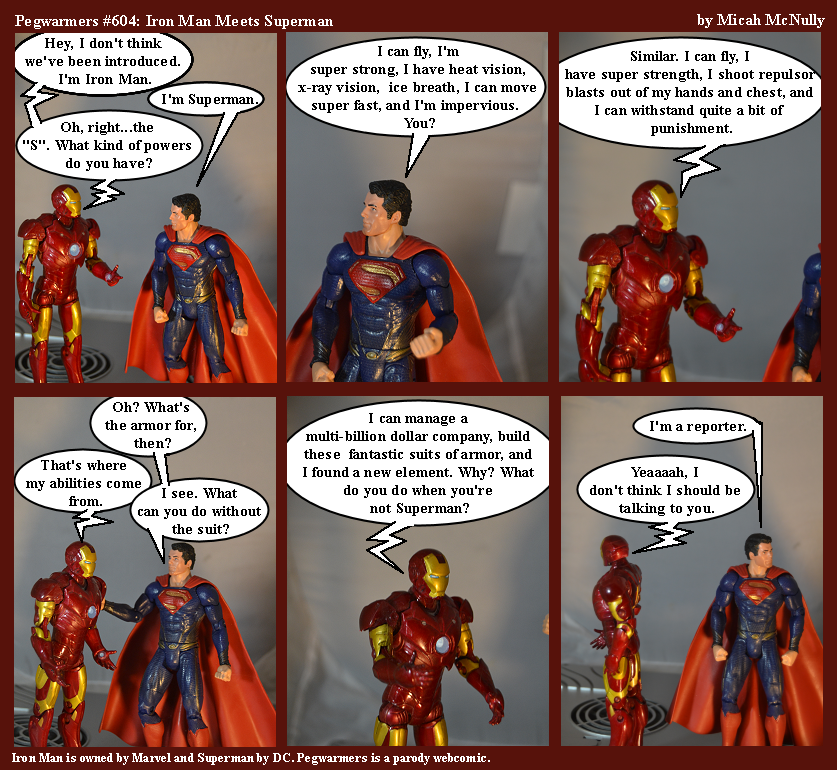 604. Iron Man Meets Superman