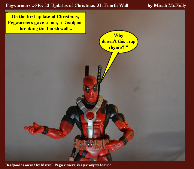 646. 12 Updates of Christmas: Fourth Wall