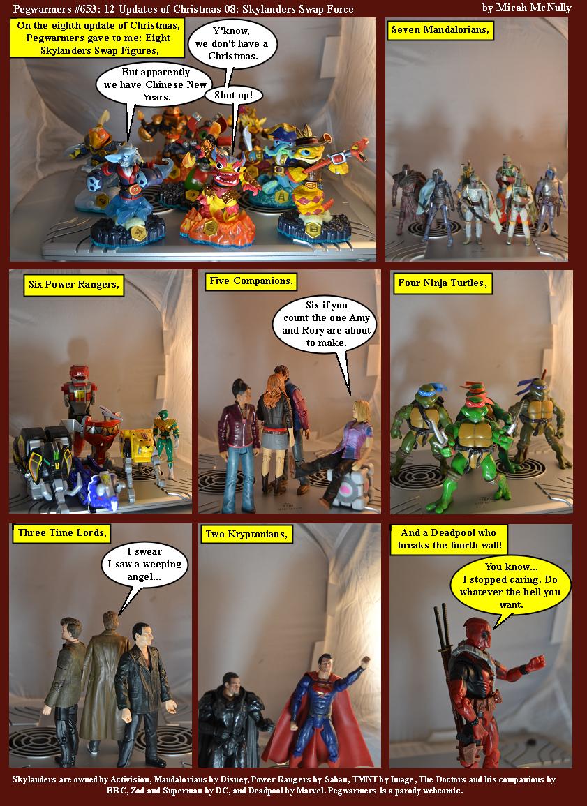 653. 12 Updates of Christmas 08: Skylanders Swap Force