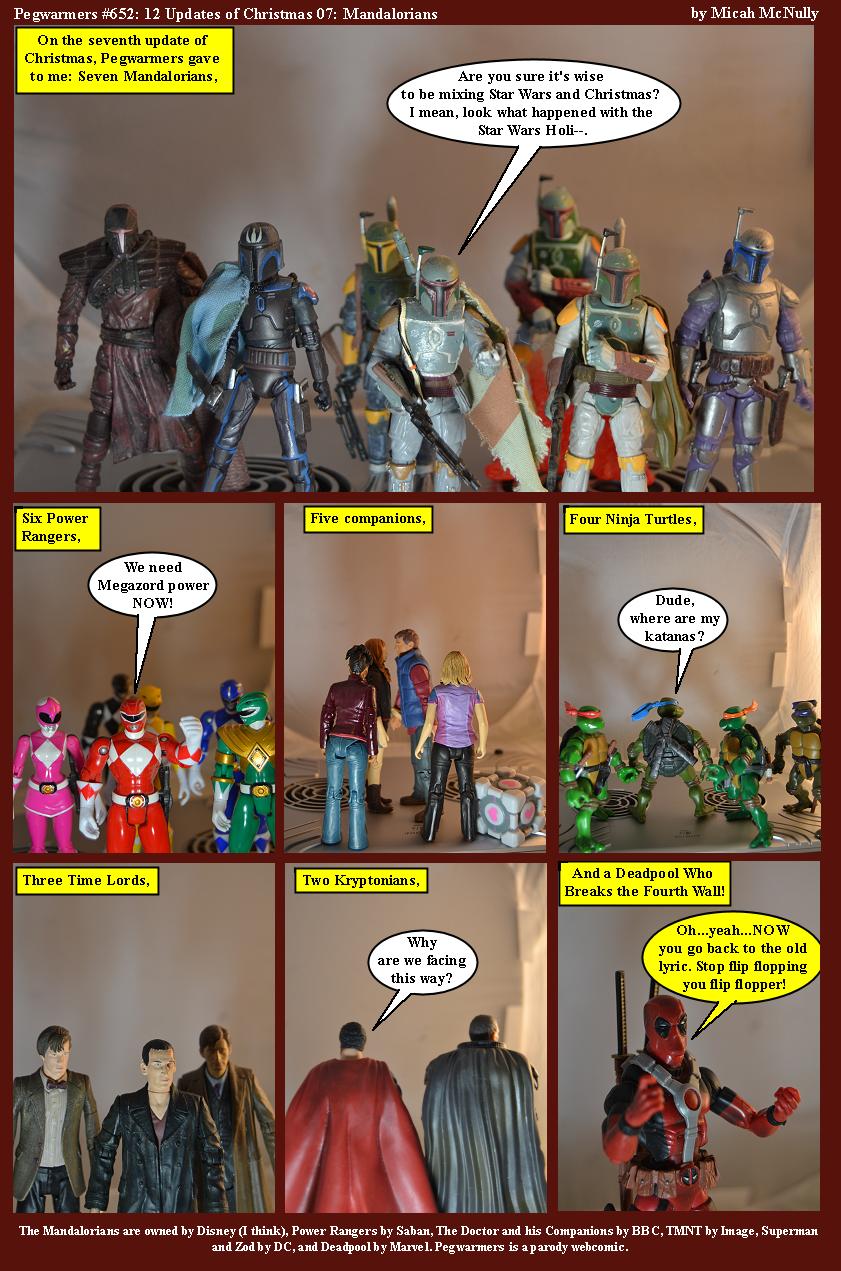 652. 12 Updates of Christmas 07: Mandalorians