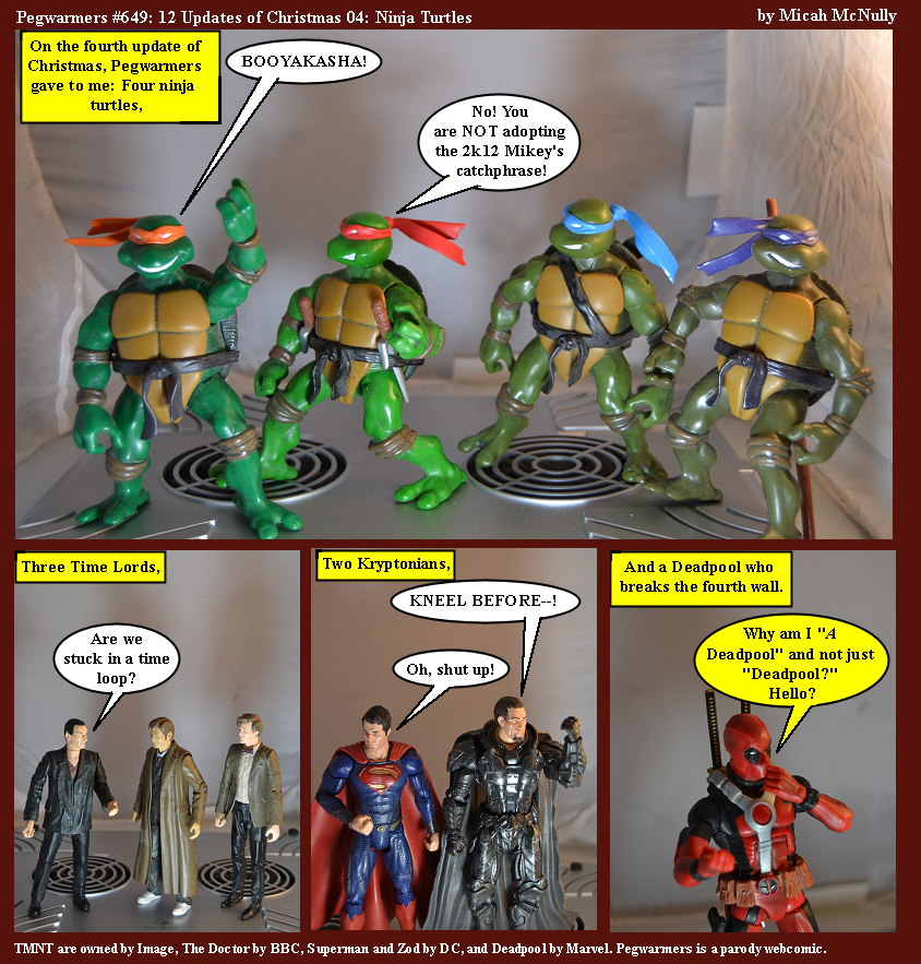 649. 12 Updates of Christmas 04: Ninja Turtles