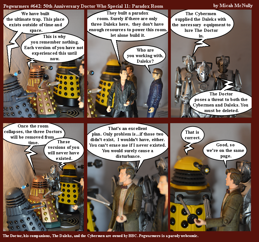642. 50th Anniversary Doctor Who Special 11: Paradox Room