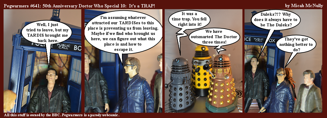 641. 50th Anniversary Doctor Who Special 10: It's a TRAP!