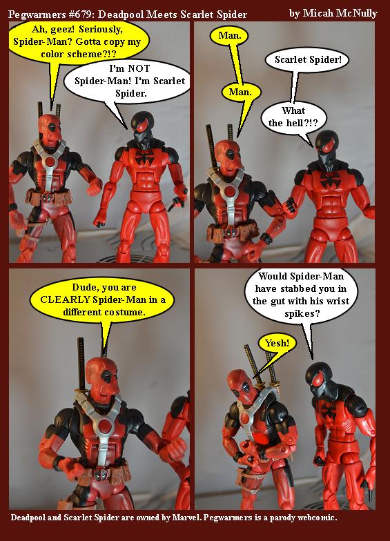 679. Deadpool Meets Scarlet Spider