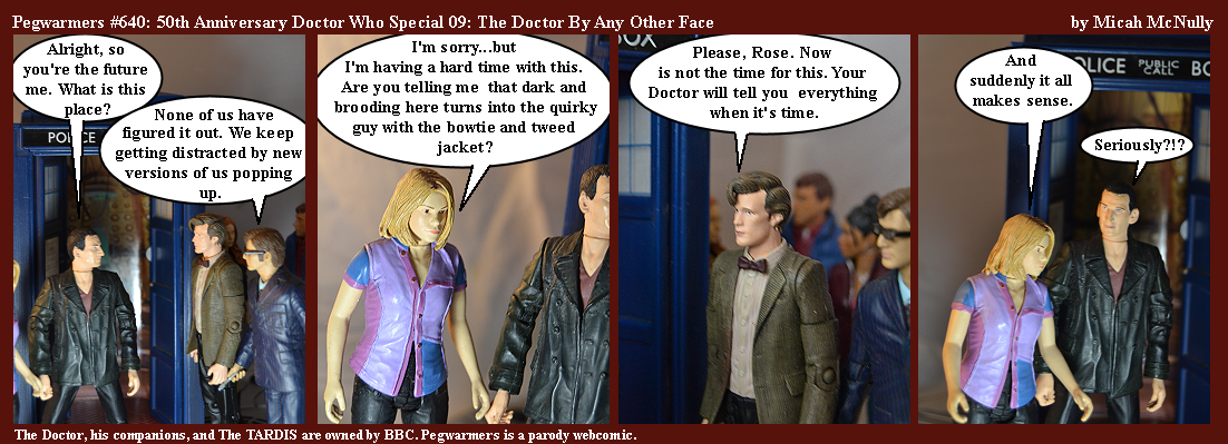 640. 50th Anniversary Doctor Who Special 09: The Doctor By Any Other Face
