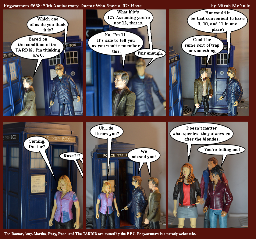 638. 50th Anniversary Doctor Who Special 07: Rose
