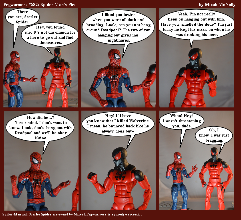 682. Spider-Man's Plea