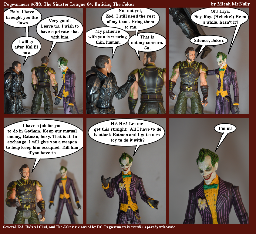 688. The Sinister League 04: Enticing The Joker