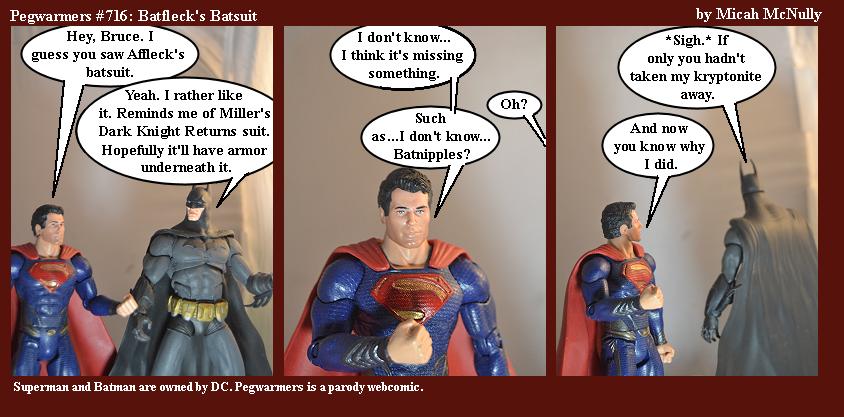 716. Batfleck's Batsuit