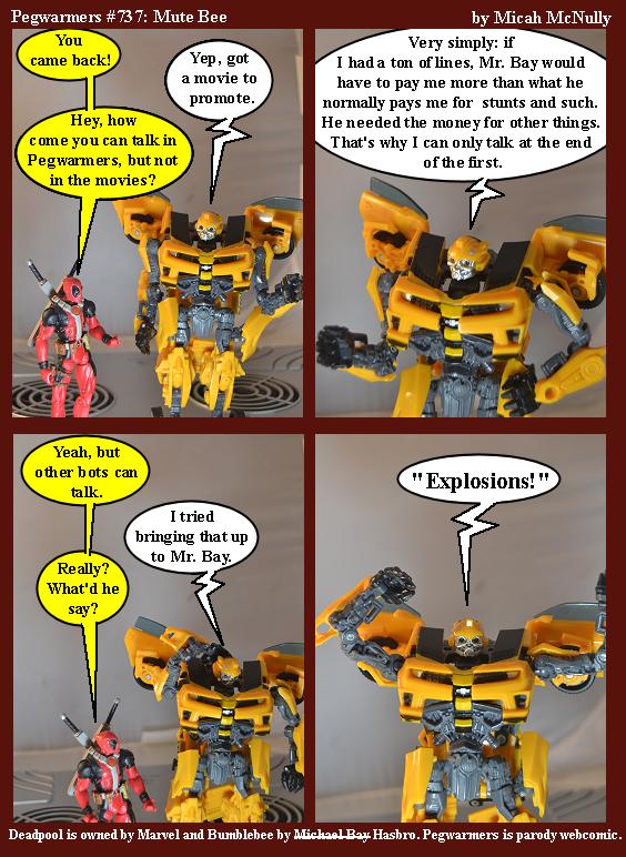 737. Mute Bee