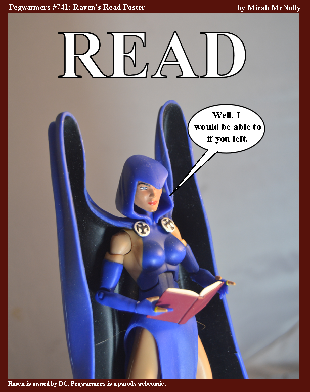 741. Raven's Read Poster