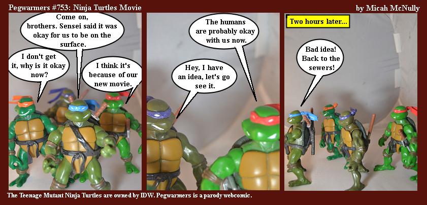 753. Ninja Turtles Movie