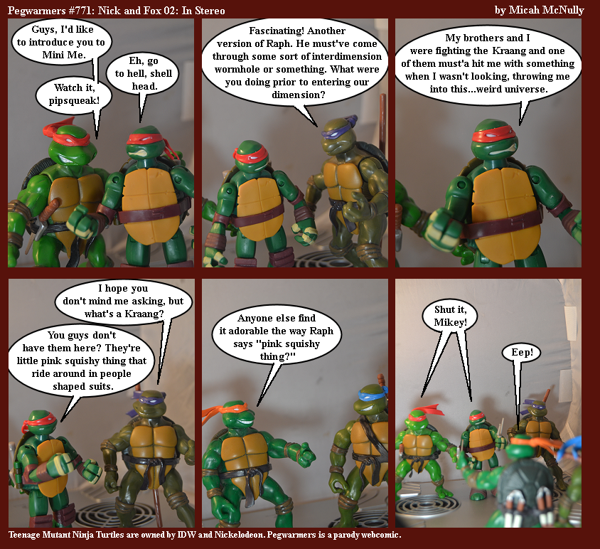 771. Nick and Fox 02: In Stereo