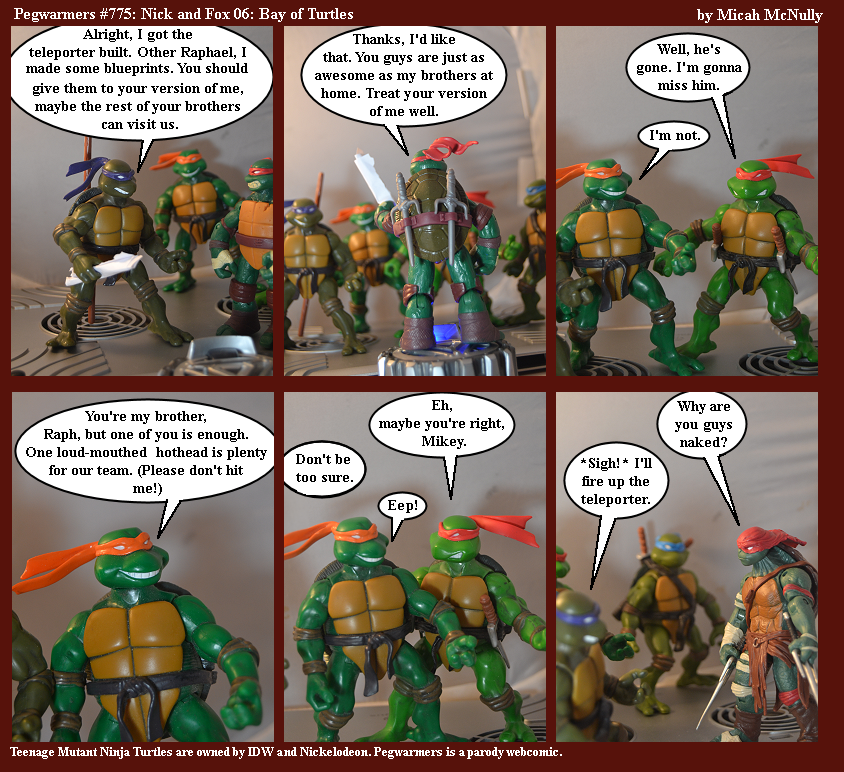 775. Nick and Fox 06: Bay of Turtles
