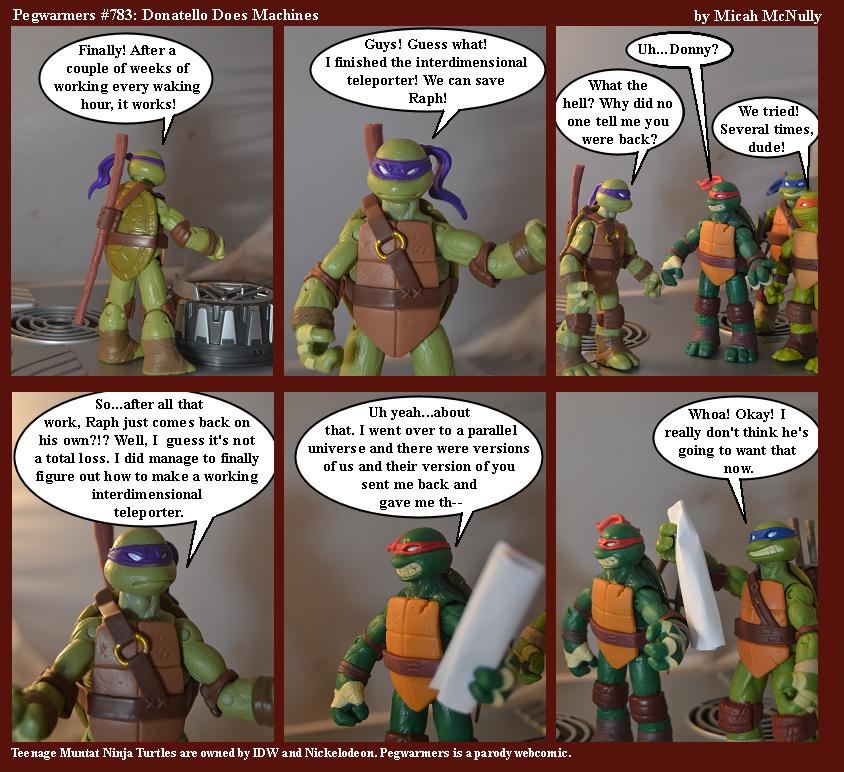 783. Donatello Does Machines
