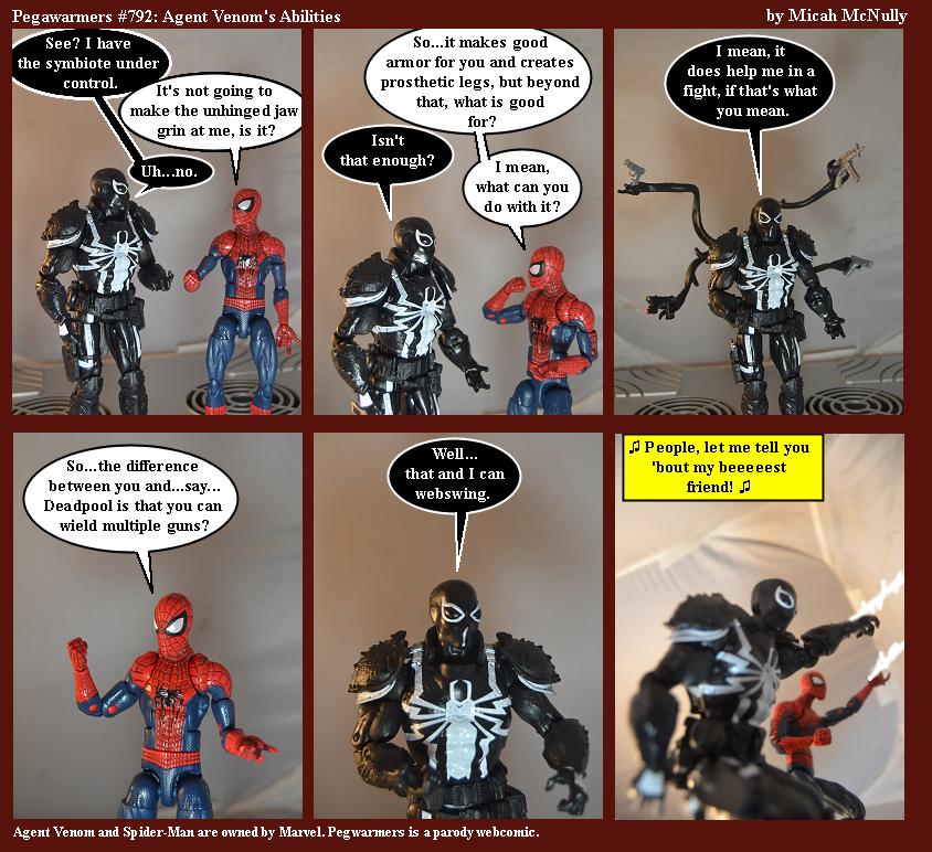 792. Agent Venom's Abilities