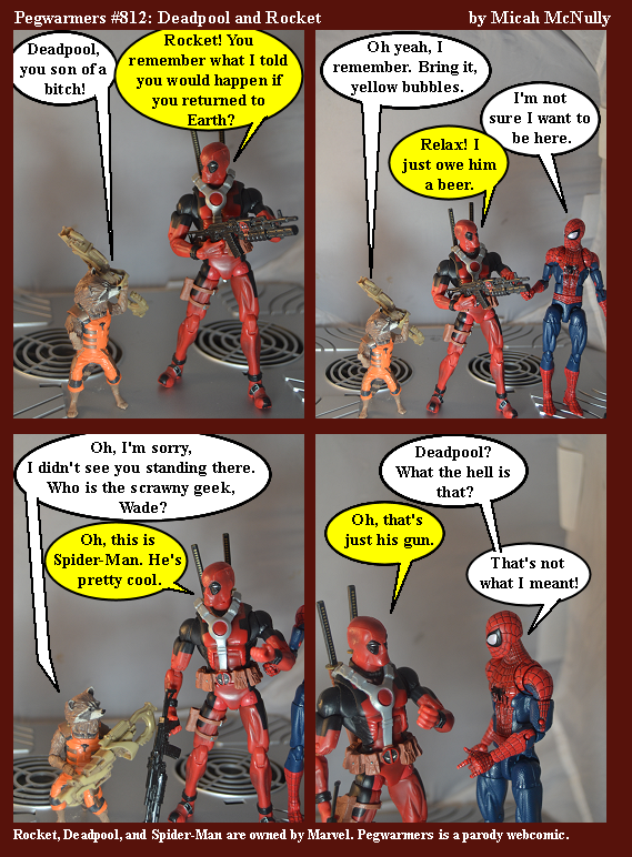 812. Deadpool and Rocket
