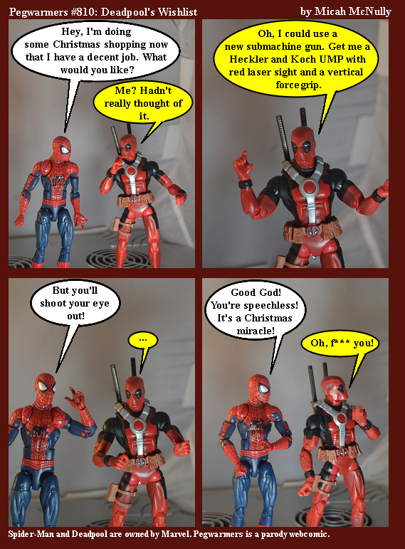 810. Deadpool's Wishlist