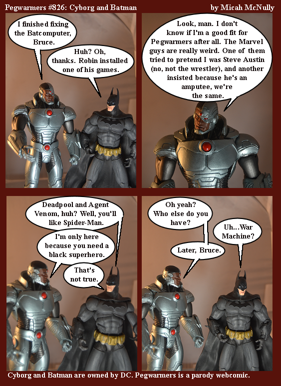 826. Cyborg and Batman