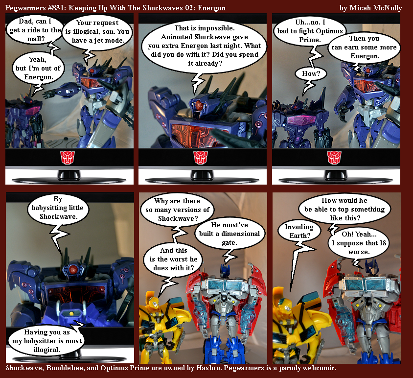 831. Keeping Up With The Shockwaves 02: Energon