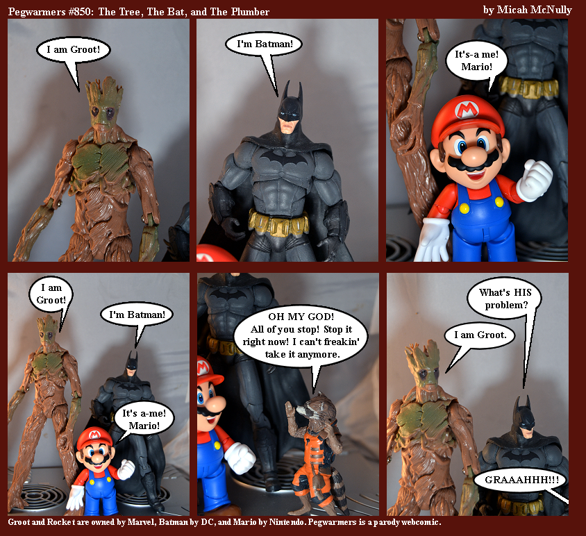850. The Tree, The Bat, and The Plumber