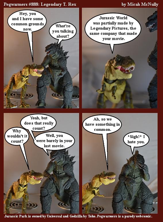 888. Legendary T. Rex