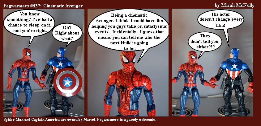 837. Cinematic Avenger