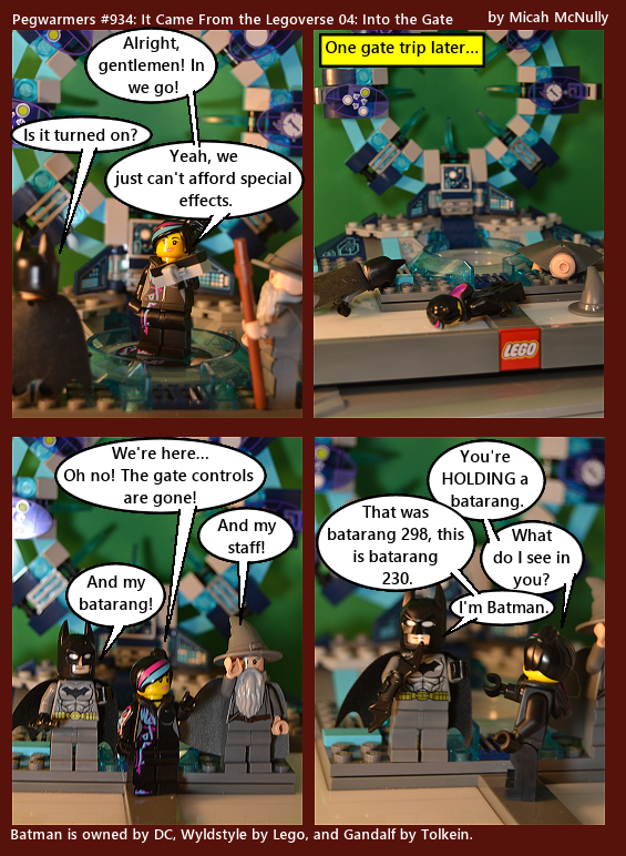 934. It Came From the Legoverse 04: Into the Gate
