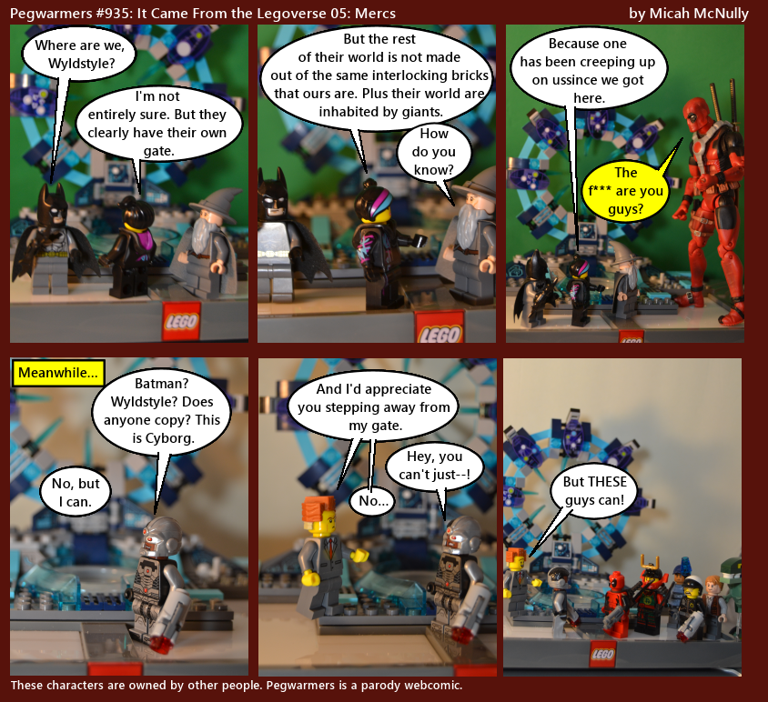 935. It Came From the Legoverse 05: Mercs