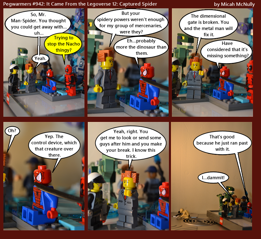 942. It Came From the Legoverse 12: Captured Spider
