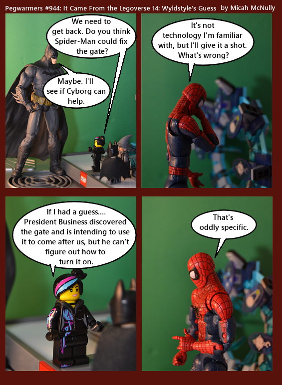 944. It Came From the Legoverse 14: Wyldstyle's Guess
