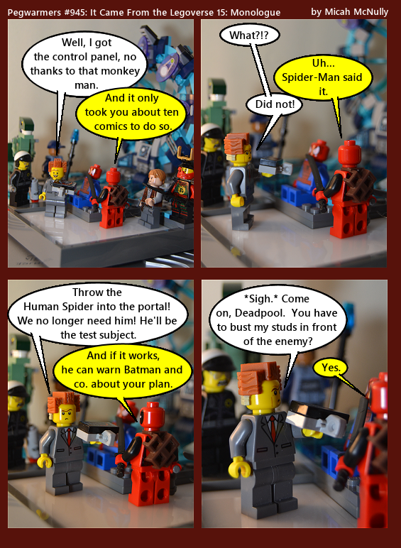 945. It Came from the Legoverse 15: Monologue