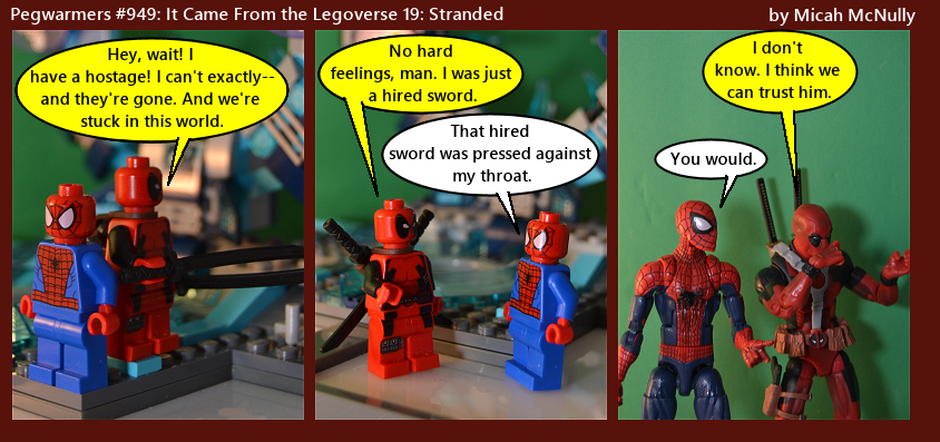 949. It Came From the Legoverse 19:Stranded