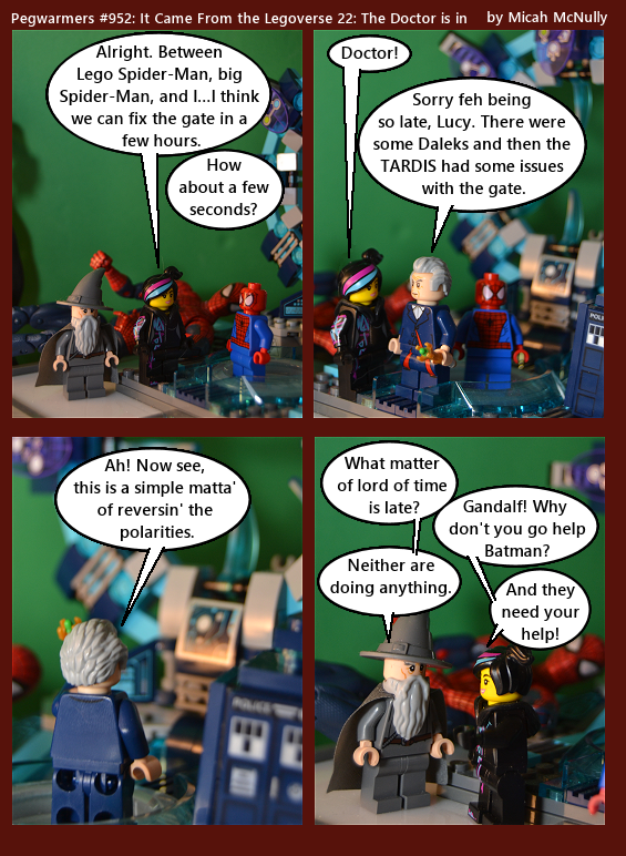 952. It Came From the Legoverse 22: The Doctor is in