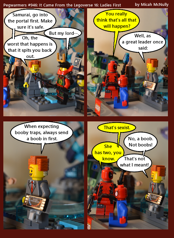 946. It Came from the Legoverse 16: Ladies First