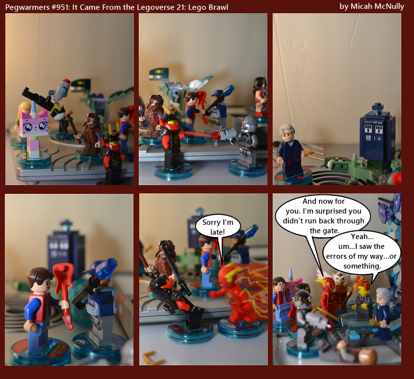 951. It Came From the Legoverse 21: Lego Brawl