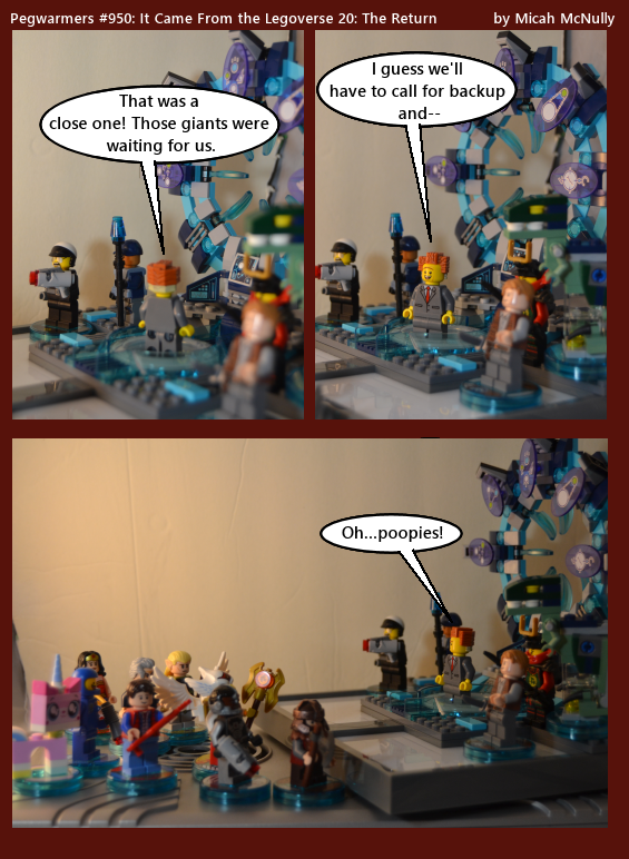 950. It Came from the Legoverse 20: The Return