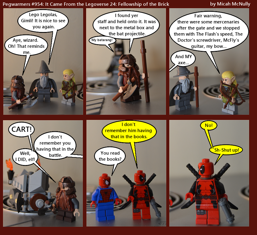 954. It Came From the Legoverse 24: Fellowship of the Brick